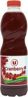 Boisson cranberry regular sans sucres ajoutés - Produit
