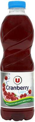 Boisson cranberry light - Product