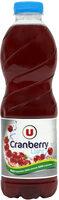 Boisson cranberry light - Produit - fr