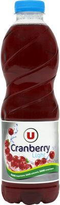 Boisson cranberry light - Product - fr