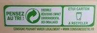 Lentilles corail - Recyclinginstructies en / of verpakkingsinformatie - fr