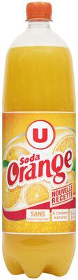Soda saveur orange - Product - fr