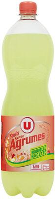 Soda saveur agrumes - Product