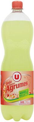Soda saveur agrumes - Produit - fr