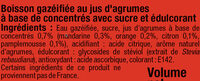 Soda saveur agrumes - Ingrédients - fr