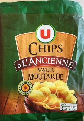 Chips à l'ancienne saveur moutarde - Product