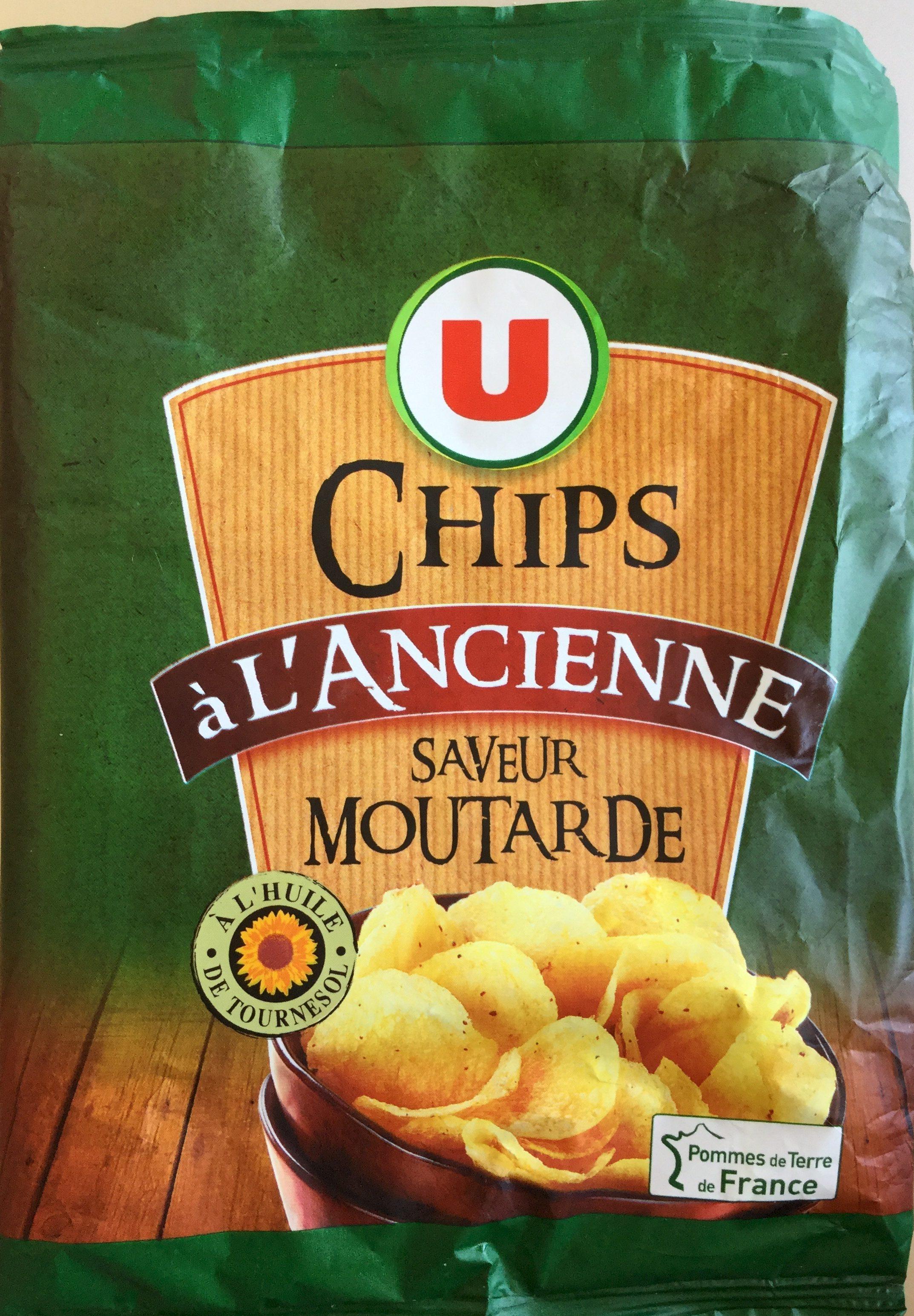Chips à l'ancienne saveur moutarde - Product - fr