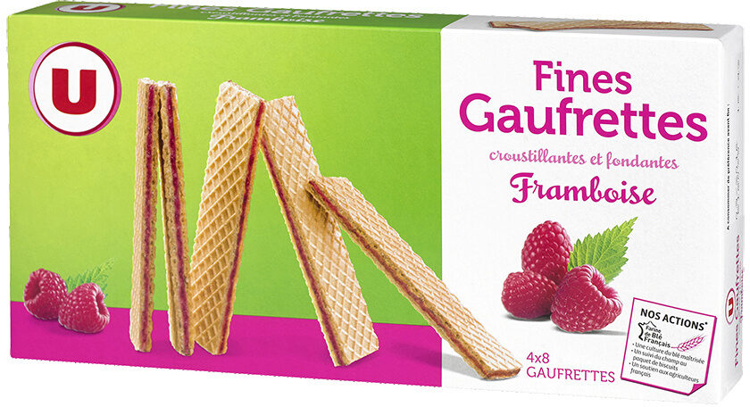 Fines gaufrettes framboise - Product