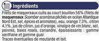 Filets de maquereaux aux agrumes - Inhaltsstoffe - fr