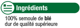 Couscous Grains Fins - Ingrédients