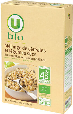 Mélange de céréales et légumes secs - Product - fr