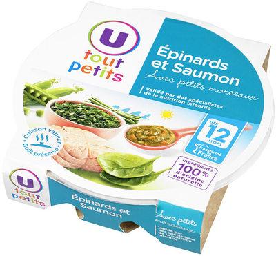 Assiette épinard et saumon - Produkt - fr