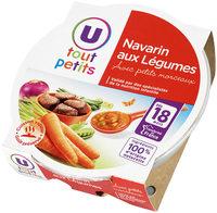 Assiette navarin d'agneau aux petits légumes - Product - fr