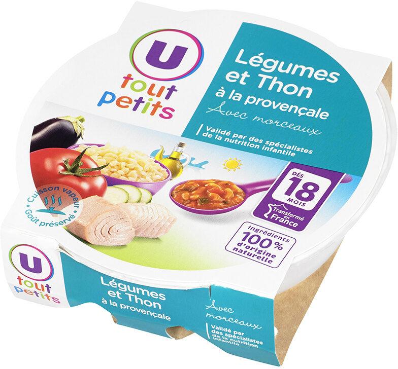Assiette de légumes et thon à la provencale - Produkt - fr
