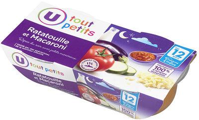 Bols soir ratatouille macaroni - Produkt - fr