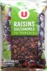 Raisins Sultanines de Turquie - Produit