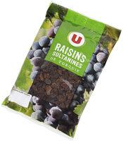 Raisins Sultanine, calibre 235/265 - Produit