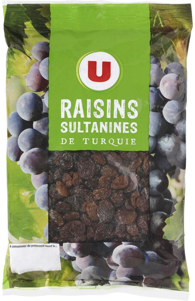 Raisins Sultanine, calibre 235/265 - Product - fr