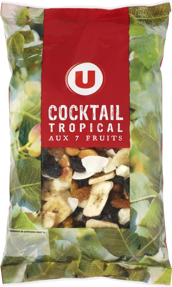 Cocktail Tropical(papaye,amande,banane chips,raisin) - Product - fr