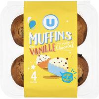 Muffins au goût vanille et aux pépites chocolat - Produit - fr