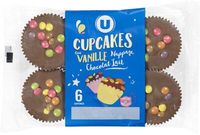 Cupcakes vanille nappé goût chocolat - Product - fr