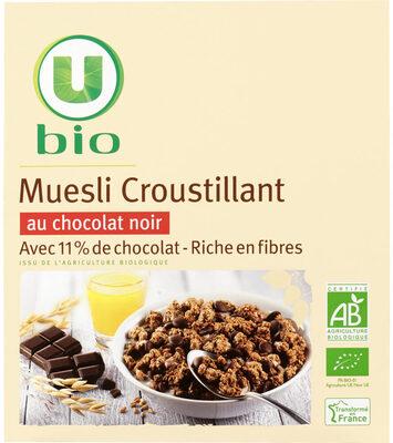 Muesli croustillant au chocolat - Produit - fr