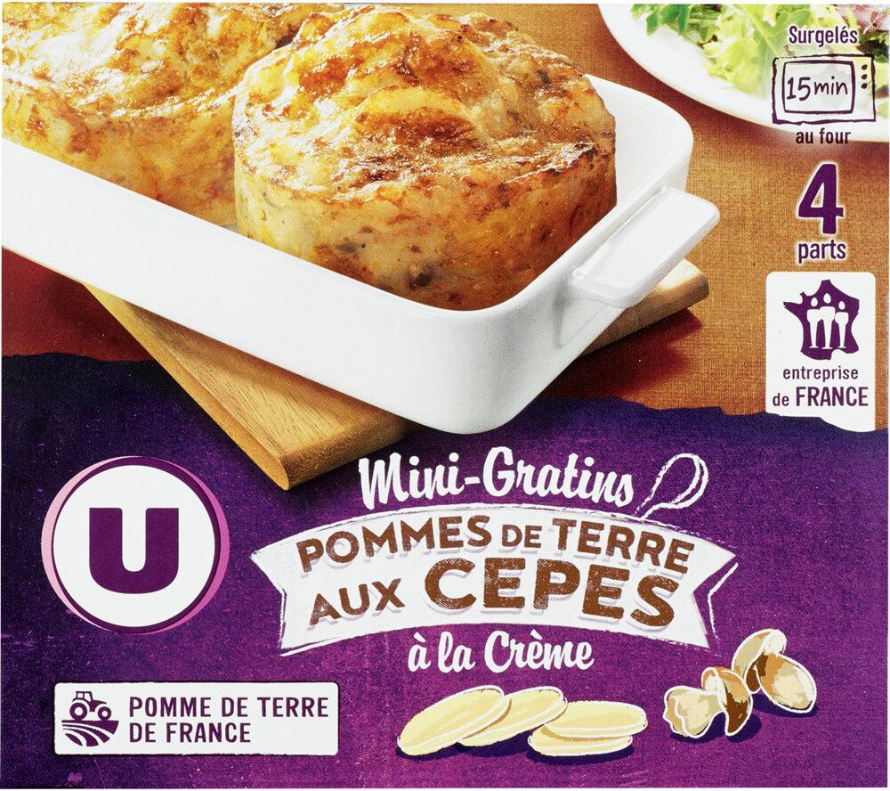 Mini Gratin de Pommes de Terre aux Cèpes - Produit - fr