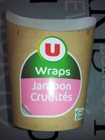 Wraps jambon crudités - Product