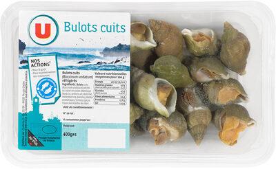 Bulots cuits, Buccinum undatum - Product - fr