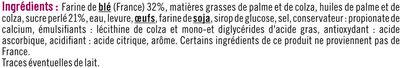 Gaufres liègeoises perles de sucre - Ingredients