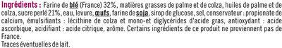 Gaufres liégeoises perles de sucre - Ingrédients - fr