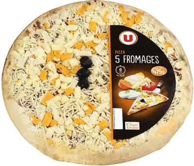 Pizza aux 5 fromages - Produit