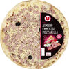 Pizza au jambon, emmental et mozzarella - Product