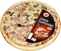 Pizza au jambon et aux champignons - Produit - fr