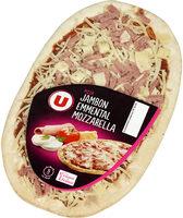Pizza au Jambon, Emmental et Mozzarella - Produit
