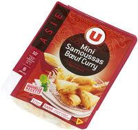 Mini samoussas boeuf curry, - Product