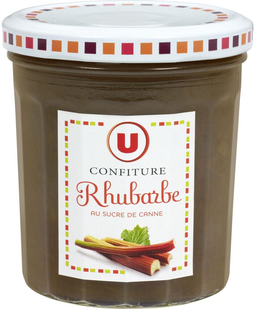 Confiture extra de rhubarbe - Produit - fr