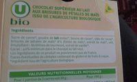 Chocolat Lait Maïs Bio - Product