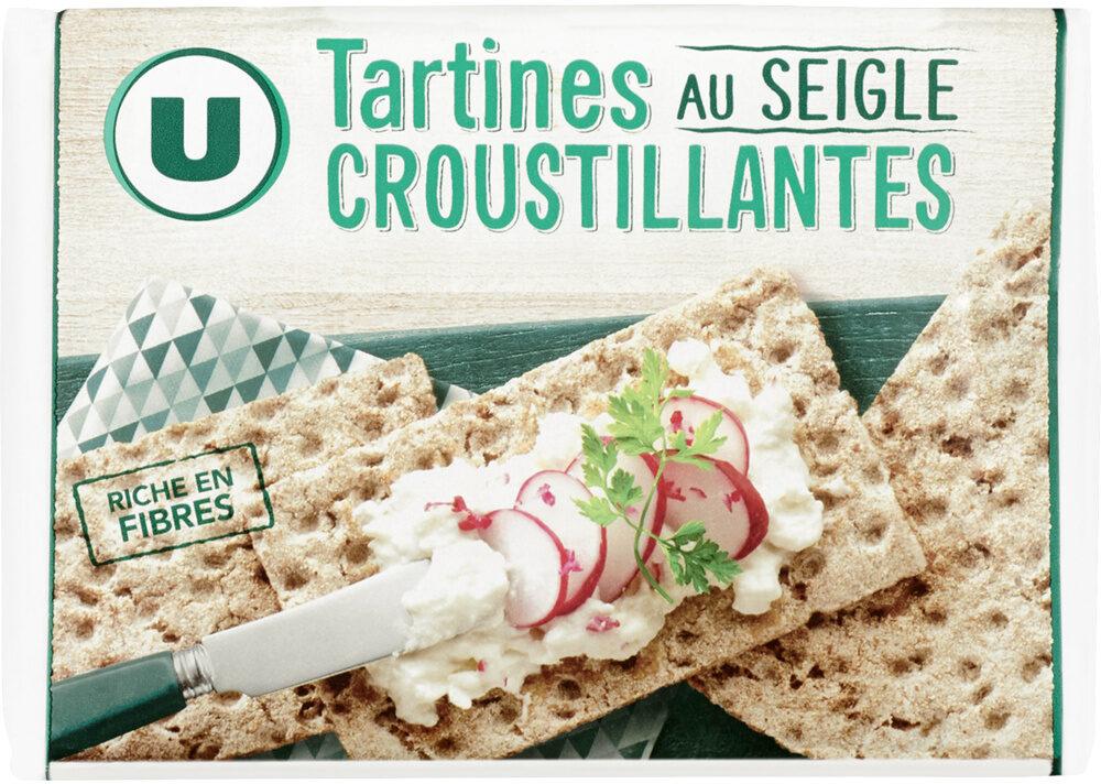 Tartine croustillante seigle - Product - fr