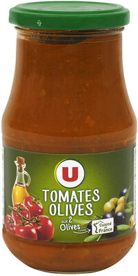 Sauce tomates et olives - Product