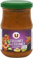 Sauce cuisinée aux légumes - Produit