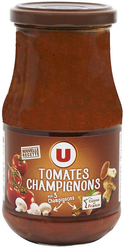 Sauce tomates et champignons - Produit