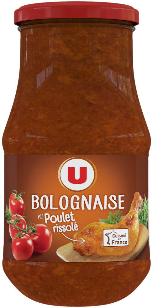 Sauce bolognaise au poulet rissolé - Producto - fr