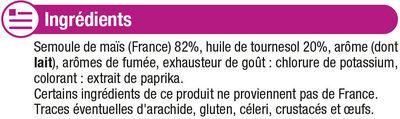 Croquant goût bacon - Ingredients - fr