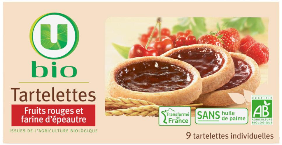 Tartelette fruits rouges et farine épéautre - Produit