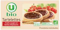Tartelette fruits rouges et farine épéautre - Product - fr