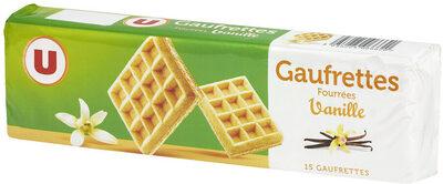 Gaufrettes fourrées saveur vanille - Produit