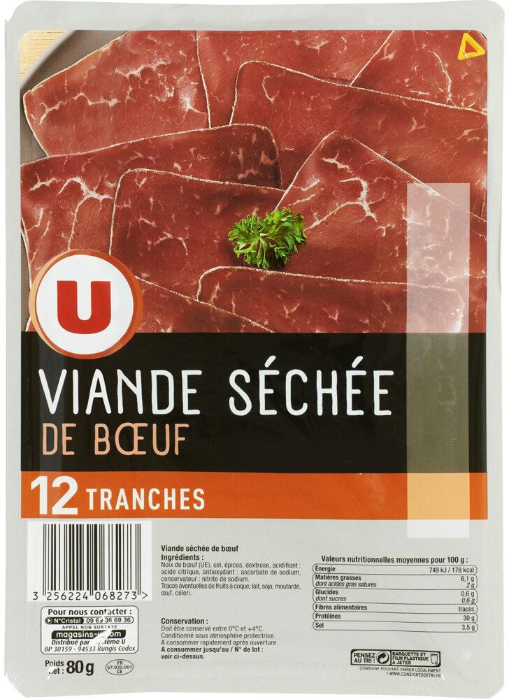 Viande séchée de boeuf - Produit - fr