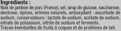 Noix de Jambon séchée - Ingredienti - fr
