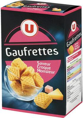 Gaufrette saveur croque monsieur - Product